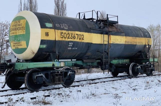 Продам вагоны-цистерны кислотные биметалл, 40м. куб.