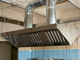 Продам вытяжку (вытяжной зонт) кухонную из нержавеющей стали - фото 2