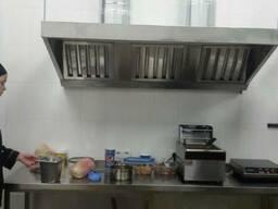 Продам вытяжку (вытяжной зонт) кухонную из нержавеющей стали - фото 4