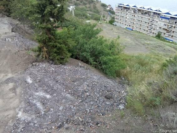 Продам зем.участок 10 сот под застройку Алушта Крым