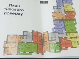 Продаж двохкімнатної квартири в поблизу озера і парку імені Шевченка в ЖК Озеро