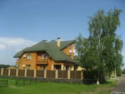 Продаж елітного 2-пов.котеджа біля Дніпра із лазнею та гость