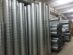 Продаж повітроводів і виробів з оцинк. сталі для систем вентиляції.