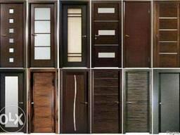 Продажа деревяных мекомнатных дверей.