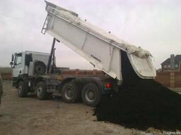 Продажа доставка чернозема самосвалом от 5 тонн в Киеве