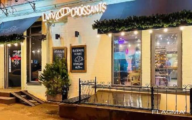"Продажа кафе ""Lviv croissants"" в центре Киева. Майдан Независимости"