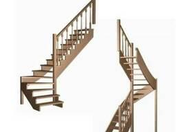 Лестницу на Второй Этаж Дерево/Метал/Стекло