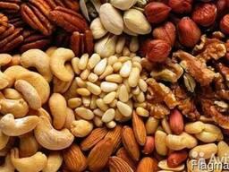 Продажа на Экспорт Сухофрукты, орехи, семечки.
