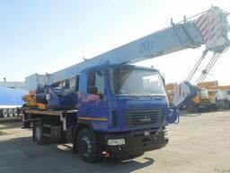 Продажа новых автокранов КС-45729-С-02 Машека 20 тонн
