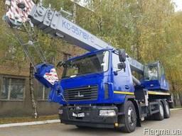 Новый автокран КС 5571BY-С-22 Машека 32 тонны