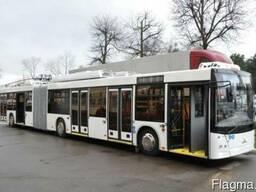 Продажа новых низкопольных троллейбусов МАЗ-215Т-00