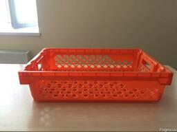 Пластиковые пищевые перфорированные ящики