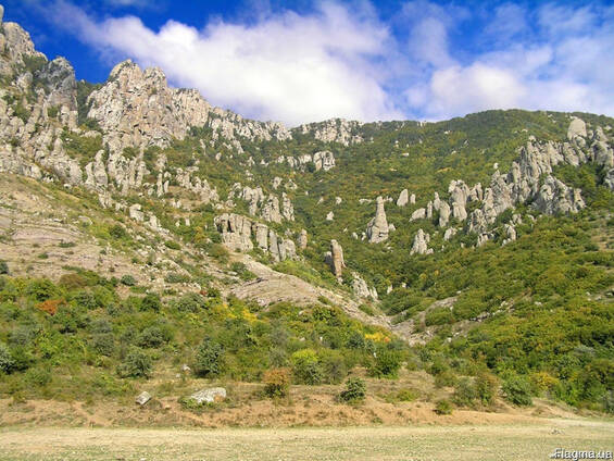 Продажа видовых земельных участков в г. Алушта, с. Лучистое