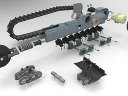 Продажа запасных частей ходовой экскаваторов