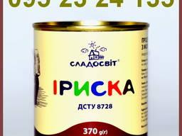 Продукт пищевой сгущенный с молоком вареный - 5 % 370г