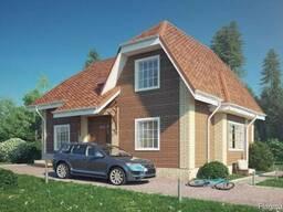 Проект дома с мансардой Д8