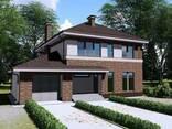Проект дома с мансардой Z24 - фото 1
