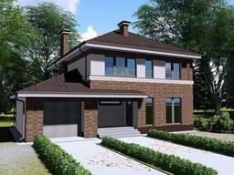 Проект дома с мансардой Z24