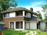 Проект дома с мансардой Z24 - фото 2