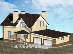 Проект двухэтажного дома 137 м2 Дешево!