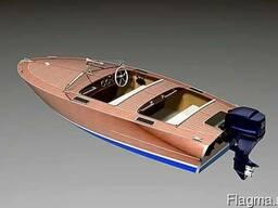 Проект моторной лодки для самостроя