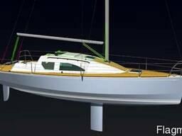 Проект яхты для самостоятельной постройки