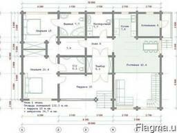 Проектирование деревянных домов, каменных домов