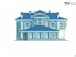 Проектирование домов и вилл различной площади и сложности