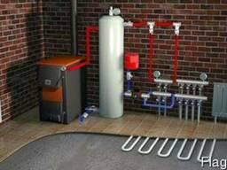 Проектирование и монтаж систем отопление и водоснабжение.