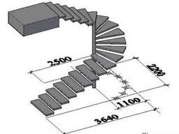 Проэктирование лестниц разной сложности