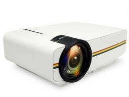 Проектор портативный мультимедийный с динамиком Led Projector Lejiada YG400
