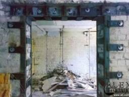 Проем в несущей стене Днепропетровск.