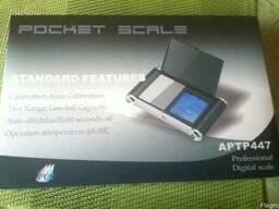 Професійні електронні міні ваги Pocket Scale APTP 447