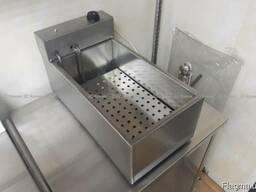 Профессиональная электрическая чебуречница для фаст-фуда