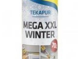 Профессиональная монтажна зимняя пена Tekapur MEGA XXL. ..