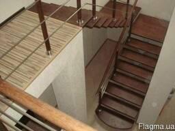 Профессиональное изготовление лестниц - фото 3