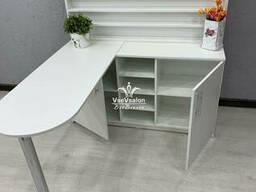Угловой маникюрный стол. Модель V431