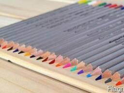 Профессиональные цветные карандаши Marco 50 цветов