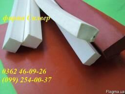 Профиль из пищевой термостойкой резины 10х20мм