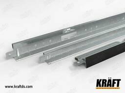 Профиль Kraft Fortis Т-24 1200 RAL 9003