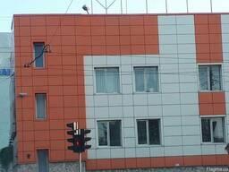 Профиль Омега толщ. до 2, 0мм. Фасадные работы на высоте