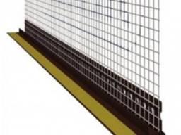 Профиль примыкания самоклеющийся Valmierа с сеткой 6мм 2. 5м