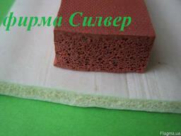 Шнуры силиконовые пористые прямоугольного сечения