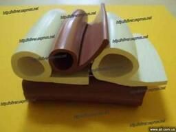 Профиль силиконовый термостойкий уплотнения дверей печей