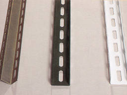 Профили гнутые и полосы перфорированные стальные, электромонтажные