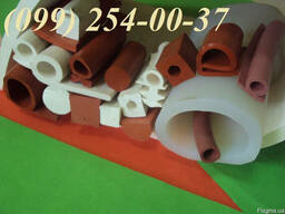 Профили термостойкие из силиконовой резины