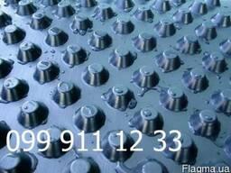 Профилированная мембрана дренажная геомембрана 400