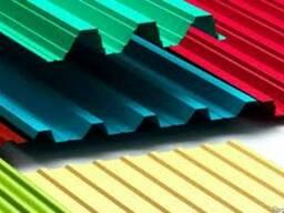 Профнастил цветной самые низкие цены - фото 3