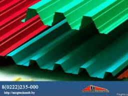 Профнастил цветной самые низкие цены - фото 4
