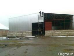 Ангар, склад, ТОК строительство